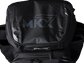 Top of a black Miken XL backpack - SKU: MKMK7X-XL-BLK image number null