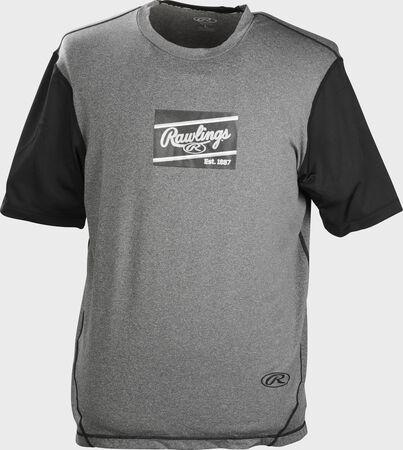 Rawlings Hurler Performance Short Sleeve Shirt   Adult & Youth