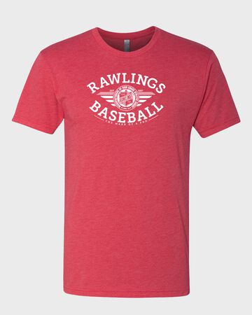 Rawlings Baseball Tri-Blend T-Shirt   Adult