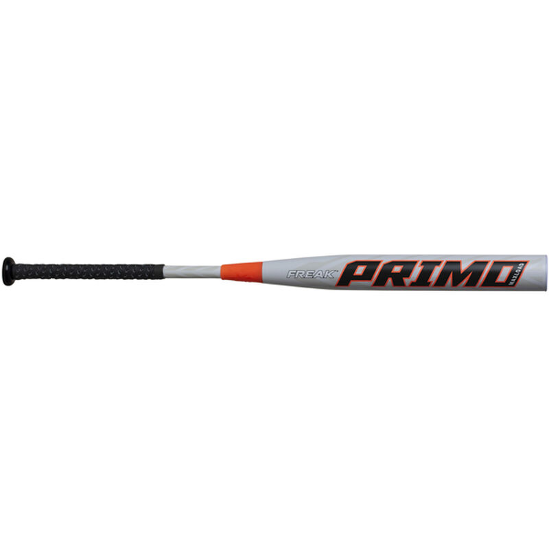 A 2020 Freak Primo Maxload USA bat with a white barrel and black grip - SKU: MPMOMA
