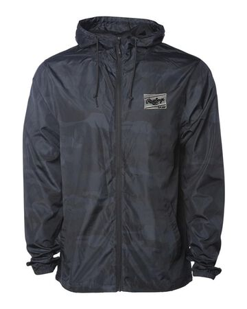 Rawlings Lightweight Windbreaker Jacket   Adult